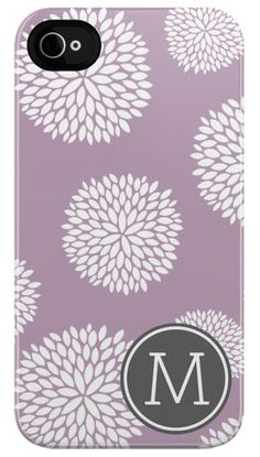 My next iPhone case will come from Plum Street Prints. So many different monograms and styles to choose from!
