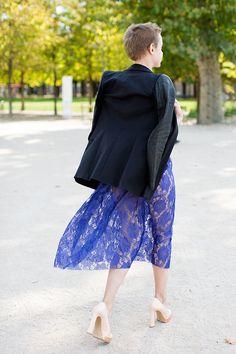 On the Street…..Lace Legs, Paris « The Sartorialist