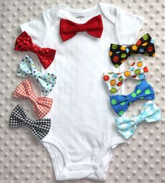 Bow tie Baby Bodysuit, Smash Cake Outfit, Baby Bowtie One Piece, Bowtie Bodysuit, Baby Bodysuit, Photo Prop on Etsy, $20.00 CAD