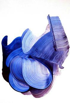 Acrylique sur papier Chromalux