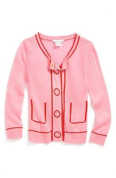 LITTLE MARC JACOBS Illustrated Detail Cardigan (Little Girls & Big Girls) | Nordstrom