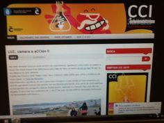 Blog do CCI que os rapaces e rapazas consultaban a miudo par estar informados.