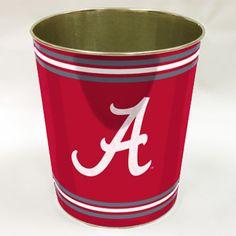 WinCraft Inc Alabama Crimson Tide 15 Waste Basket