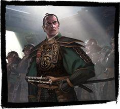 By Imperial Decree - Fantasy Flight Games Fantasy Races, High Fantasy, Character Art, Character Design, Samurai Artwork, L5r, Fantasy Characters, Fictional Characters, Jon Snow