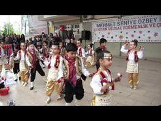 23 Nisan 2017 Anasınıfı Seymen ve Kaşık Oyunları Gösterisi - YouTube