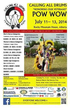 "Calling All Drums ""Honoring Our Veterans"" Pow Wow"