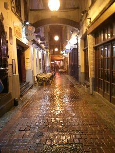 Delirium (Tremens) Alley, Brussels, Belgium