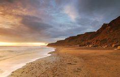 Evening light, Brighstone bay | por George-Edwards
