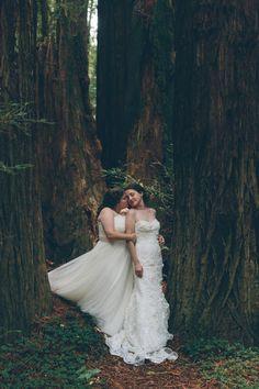 Mendocino, CA Lesbian Wedding