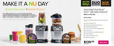 Nutri Ninja Blender Duo is a nutrient and vitamin extractor, as well as crushing blender. Does it work? Read our Nutri Ninja Blender Duo review.