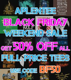 Get 50% off in our massive BLACK FRIDAY WEEKEND SALE! Visit Aplentee.com now and start saving...