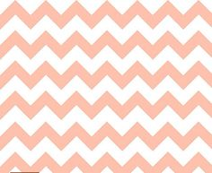 Peach Chevron Cotton Knit By the Yard Fabric, Easter Fabric, Jersey, Maxi Skirt, Baby Ring Sling, Blanket, Infinity Scarves, Clothing on Etsy, $13.49