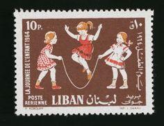 UNICEF stamp - Lebanon, 1964