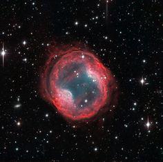 PK 164 +31.1, планетарная туманность Джонс-Эмберсон 1 в созвездии Рысь