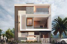 House Outer Design, Modern Small House Design, House Outside Design, House Front Design, Modern Bungalow Exterior, Modern Exterior House Designs, 3 Storey House Design, Bungalow House Design, House Elevation