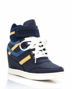 Wedge sneakers gojane.com
