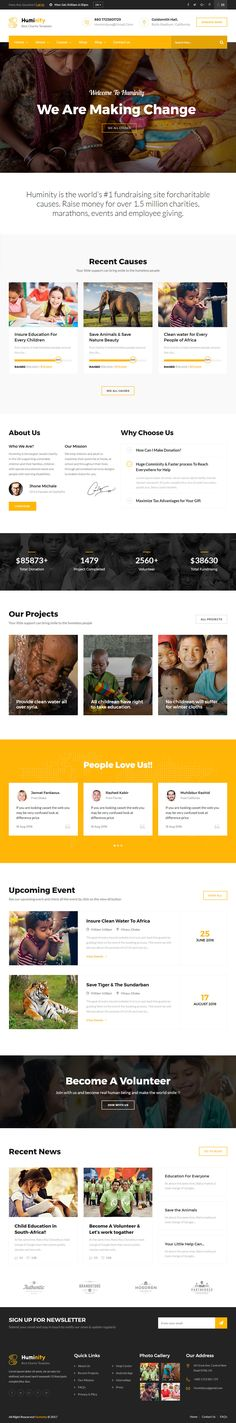 Huminity is Premium Responsive #HTML5 Retina Template. Bootstrap Framework.  If you like this #CharityTemplate visit our handpicked list of best HTML5 #CharityWebsite Templates at: http://www.responsivemiracle.com/best-html5-charity-website-templates/