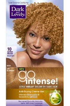 Dark & Lovely #10 Golden Blonde Go Intense!