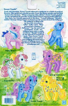 My Little Pony Twice-As-Fancy Backcard