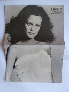 Maren Jensen Dirk Benedict Mini Poster Greek Magazines clippings 80s 90s | eBay