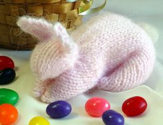 Make a bunny from a knitted swatch — it's almost as clever as pulling a rabbit out of a hat! Downloadable pattern valued at $5. Donation appreciated.