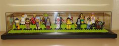 LEGO Collectible Minifigures Series 3 in Display Case by notenoughbricks, via Flickr