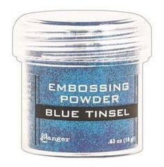 Ranger - Embossing Powder - Blue Tinsel