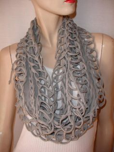Addicted to t-shirt scarves. This is a fave!