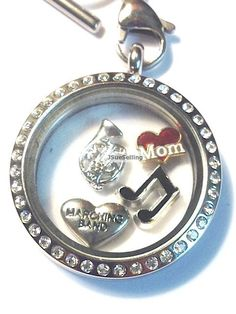 Marching Band Floating Locket Marching Band Jewelry by JSueSelling, $18.00