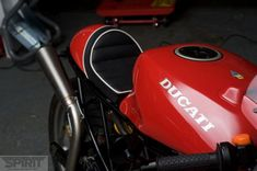 Trim Ducati Supersport tailsection - via The Bike Shed