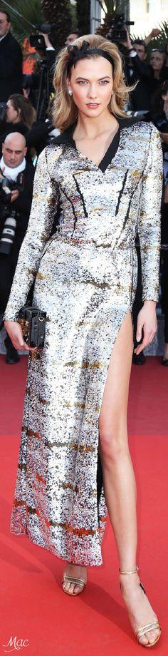 Cannes 2016: Karlie Kloss in Louis Vuitton