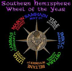 Southern Hemisphere Wheel of the Year...