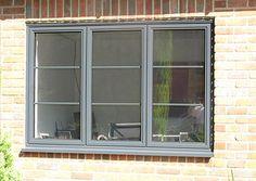 Aluminium Windows Maidstone, Gillingham, Sittingbourne from Maidstone Trade Windows. See our range of Aluminium Windows. Wide range of colours too. Aluminium Windows, Windows, Metal Windows, Windows Exterior, House Exterior, Casement Windows, Cottage Windows, Steel Windows, Aluminum Windows Design
