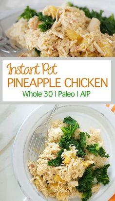 Instant Pot Pinapple Chicken