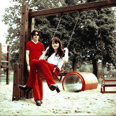 The White Stripes, Jack & Meg White.