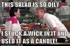 Lettuce aromatherapy…  #salad #cheframsay #hellskitchen #mememonday