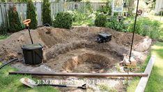 How to Build a Backyard Garden Pond   Empress of Dirt Outdoor Ponds, Ponds Backyard, Backyard Pergola, Backyard Waterfalls, Pergola Ideas, Patio, Outdoor Fountains, Garden Ponds, Koi Ponds