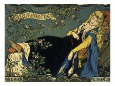 Sleeping Beauty Giclee Print by Konrad Dielitz at AllPosters.com