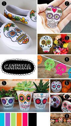 Ideas para decoración del Día de los Muertos