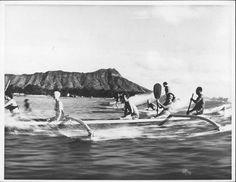 Canoes Outrigger Canoe, Honolulu Hawaii, Hawaiian, Maine, Waves, Outdoor, Diamond, Outdoors, Diamonds