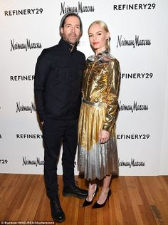 Kate Bosworth and her husband Michael Polish - Refinery29 and Neiman Marcus Opening Party in Austin, Texas.  (11 March 2016)