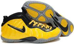 66e4921b236 Nike Air Foamposite Pro Yellow Black Kobe Shoes
