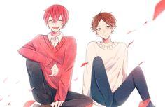 Sakata and Uratanuki Vocaloid, Otaku, Cute Anime Boy, Ensemble Stars, Fan Art, Manga, Pictures, Wattpad, Singers