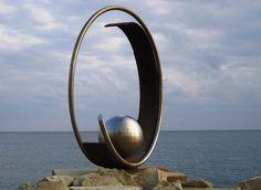 Modern steel sculpture by CyprusPictures, via Flickr