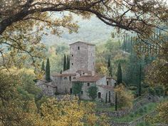 """Rod Chase """"Hills of Chianti"""" Castellina in the Chianti Region of Italy, Tuscany Vineyards and wine Central Park, Framed Art Prints, Framed Artwork, Toscana Italia, Beautiful Villas, Beautiful Places, Plein Air, Find Art, Canvas Art"""