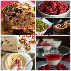OVER 70 GRAIN FREE CRANBERRY RECIPES! (LOW CARB  & DAIRY FREE OPTIONS) SO MANY AWESOME RECIPES FOR THANKSGIVING AND CHRISTMAS! www.kateshealthycupboard.com