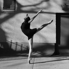 New York City-based Italian photographer Federica Dall'Orso is behind this beautiful series of black and white photographs featuring dancers in the raw and urban landscape of the Big Apple. Called Street Stage, the collection aims to share a new perspective of dance photography where the focus is not on the dancing and the technique but the ballerinas' feelings and emotions. Discover more on CreativeBoom.com #Ballerinas #StreetStage #NewYorkCity #MonochromePhotography #DancePhotography