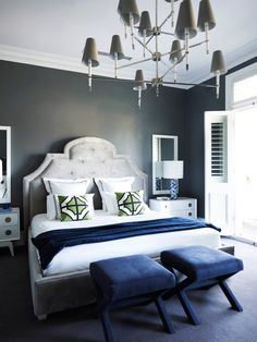 The key to a serene bedroom is a color palette that's equal parts calming and timeless.