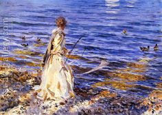 Girl Fishing by John Singer Sargeant