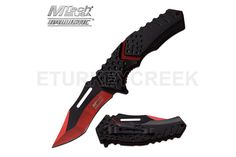 MTech USA MT-A920RD SPRING ASSISTED KNIFE 4.75 CLOSED